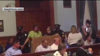 Lowell Officials to Vote on Banning Protests in Chamber