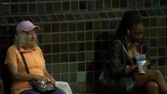 MBTA Riders Brave Sweltering Heat
