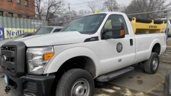 Man Allegedly Steals Sanding Truck in Newton