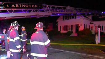 Neighbor Steps in to Help Save Man From Abington House Fire