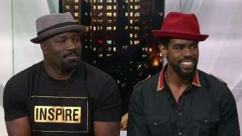 Mike Colter and Mustafa Shakir on 'Luke Cage'