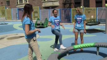 Mom Surveys Local Playgrounds for Accessibility