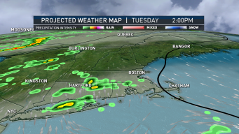 Humidity Returns Tuesday; Some Areas to See Isolated Showers and Storms