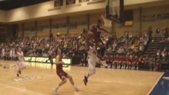 Yikes! College Blocked Shot Attempt Goes Horribly Wrong