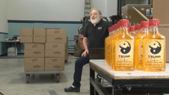 Distillery Releases Orange-Flavored Trump Vodka