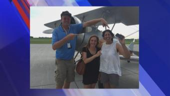 Woman Finds Phone Dropped From Plane