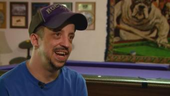Man With Disability Becomes Pool Hall Wizard