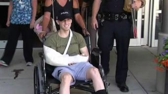 NH Officer Shot on Duty Released From Hospital
