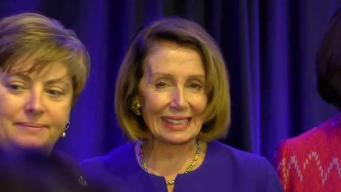 Nancy Pelosi Visits Massachusetts to Campaign Before Midterms