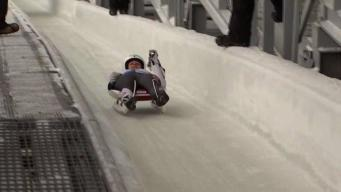 New Englanders Prepare for Final Olympic Luge Qualifier