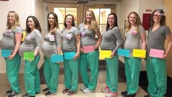 9 Nurses in Hospital Maternity Ward Get Pregnant at Same Time