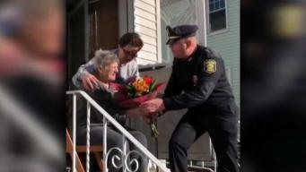 Police Thank Pizzelle Lady for Decades of Treats