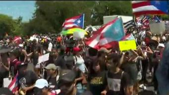 Puerto Rican Parade Held in Boston Sunday