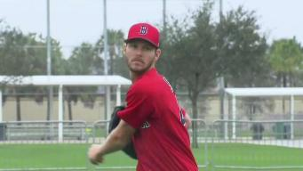 Red Sox Hold 1st Workout at Spring Training