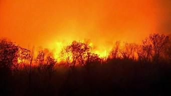 Rye Fire Spreads in Santa Clarita