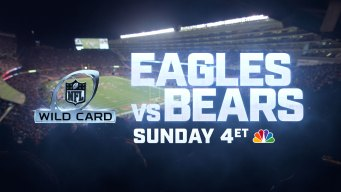 How to Watch Eagles-Bears Sunday on NBC10 Boston