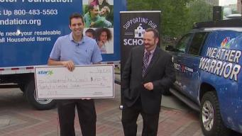 Shaw's, Star Market Makes $2,500 Donation to Supporting Our Schools