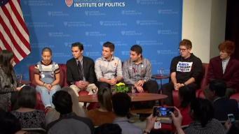 Stoneman Douglas Students Talk Gun Control at Harvard