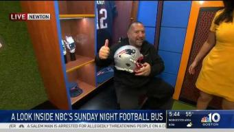 Sunday Night Football Bus Sneak Peek