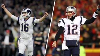 Brady on Goff: 'I'm Not Giving Him Any Advice'