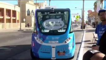 Aluminum Foil for WiFi; Vegas Tests Self-Driving Shuttle