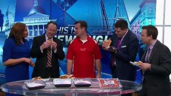 Celebrating The Red Sox Home Opener with The Sausage Guy