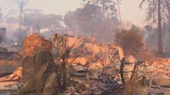 Thomas Fire Destroys Ventura Home