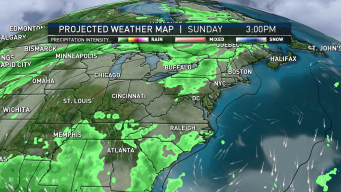Sunshine and Clouds Usher in Dry Air; Showers for Some