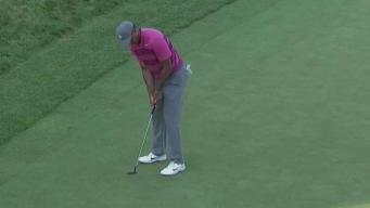 Tiger Woods Makes Cut in Norton