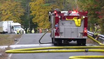 Driver Killed in Methane Truck Roll Over in Orange Identified
