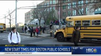 Boston School Committee Approves New Times