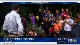 Weather Warrior Visits the B-SAFE Summer Program