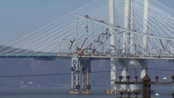 See a Close-Up View of Tappan Zee Bridge Boom