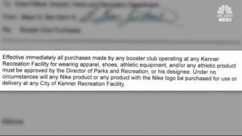 Louisiana Mayor Bans Nike After Kaepernick Campaign Launch