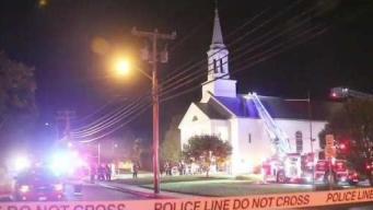 Wareham Firefighters Extinguish 3-Alarm Blaze at Church