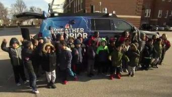 Washington Elementary School's Weather Warrior Visit
