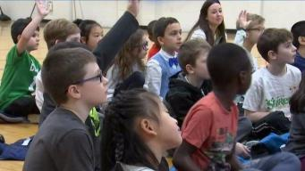 Weather Warrior Visits Bernazzani ElementarySchool