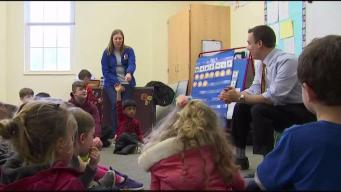Weather Warrior Visits Natick Preschool