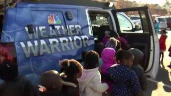 Weather Warrior Visits Abby Kelley Foster Charter School