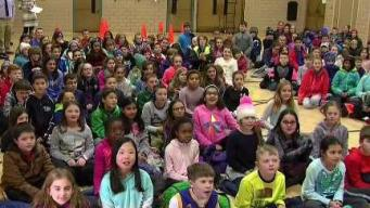 Weather Warrior Visits Burke-Memorial School