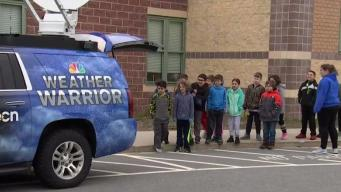 Weather Warrior Visits East Fairhaven Elementary School