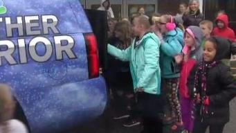 Weather Warrior Visits Ezra Baker School