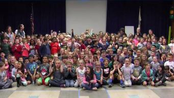 Weather Warrior Visits Henry Warren Elementary School