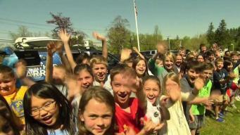 Weather Warrior Visits Hildreth Elementary School