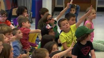 Weather Warrior Visits Hillside Elementary School