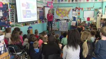 Weather Warrior Visits Hollis Elementary School