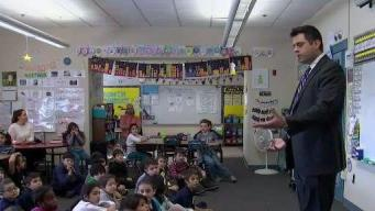 Weather Warrior Visits Lowell School