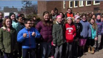 Weather Warrior Visits Merrymount Elementary School
