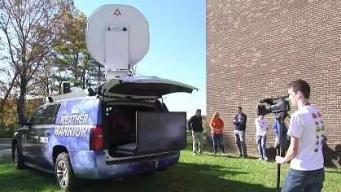 Weather Warrior Visits Middleborough High School