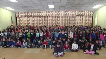 Weather Warrior Visits Reingold Elementary School